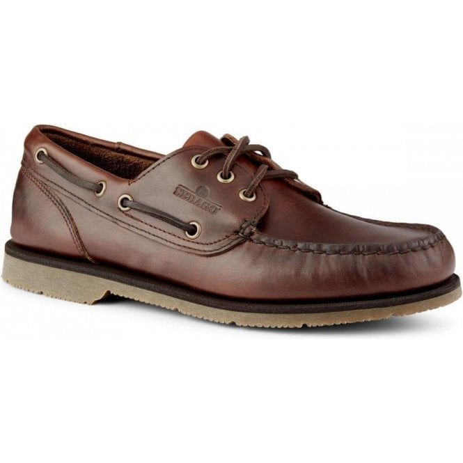 Sebago Foresiders Waxed Leather Boat Shoe