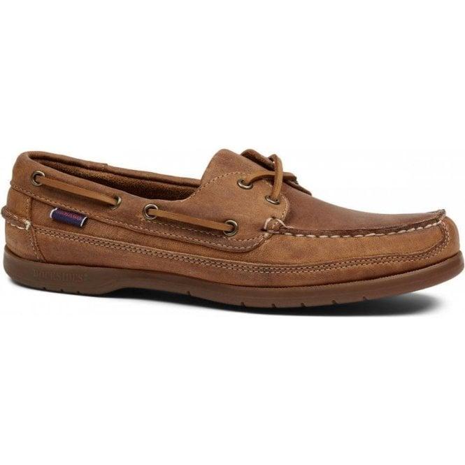 Sebago Schooner Vintage Leather Boat Shoe