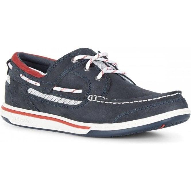 Sebago Triton Leather Boat Shoe