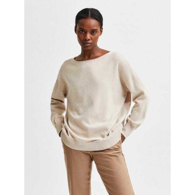 Selected Femme Cashmere Blend Pullover