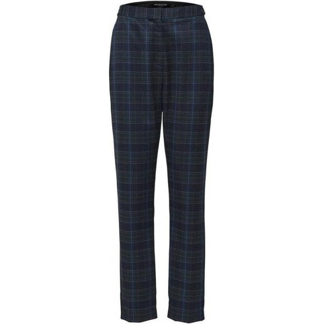 Selected Femme Checked Trousers