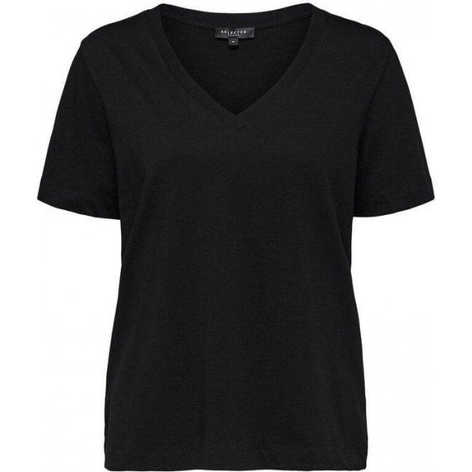 Selected Femme Organic Cotton T-Shirt