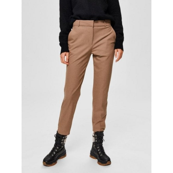 Selected Femme Stretch Suit Trousers