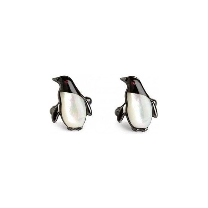 Simon Carter Darwin Penguin Cufflinks