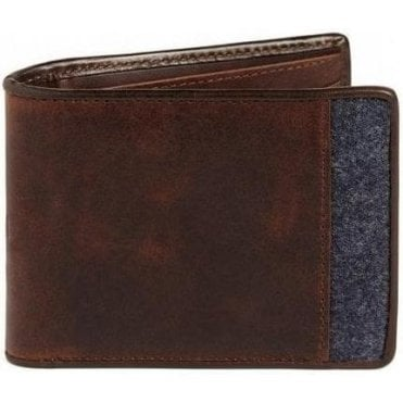 Jeans Wallet RAF Antiqued Leather