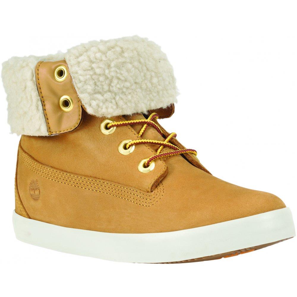 Timberland Women s Earthkeepers® Glastenbury Fleece Fold-Down Boots ... dd69069375