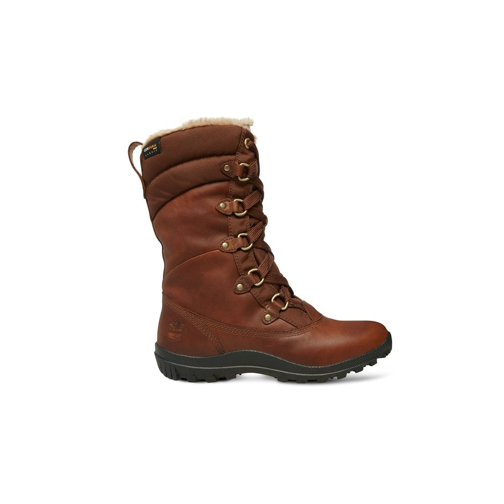 Timberland Women s Mount Hope Mid Fabric with Leather Waterproof ... c0b451ee85f6