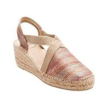 Triton Wedge Sandals