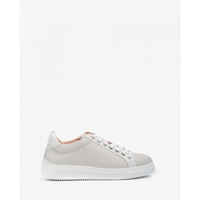 Unisa Croc Effect Leather Contrast Sneakers
