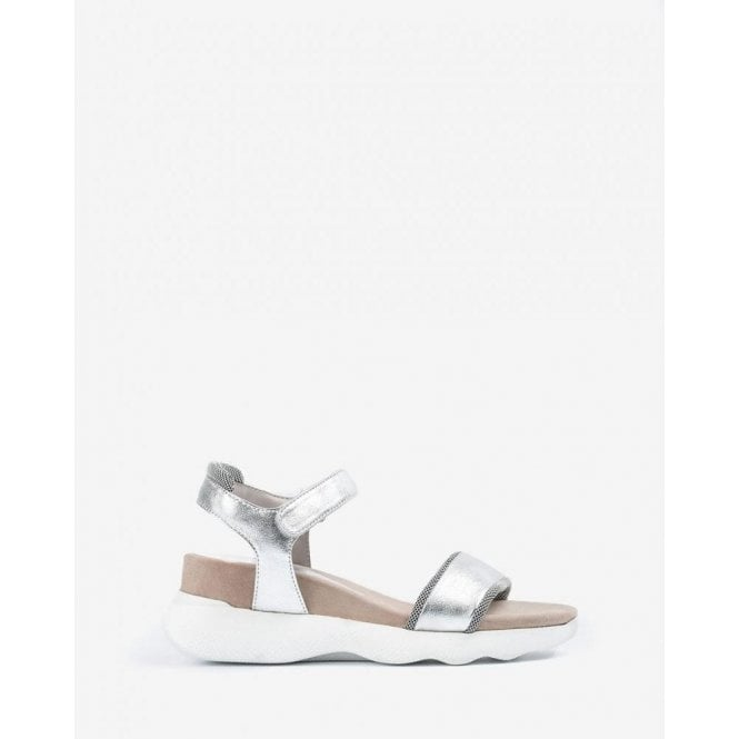 Unisa Metal Effect Sport Sandals