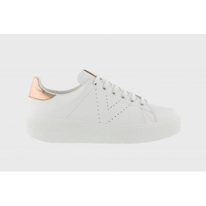 Victoria Plimsolls Utopia Leather Sneakers